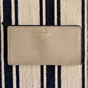 Kate spade wallet - Tan and Black